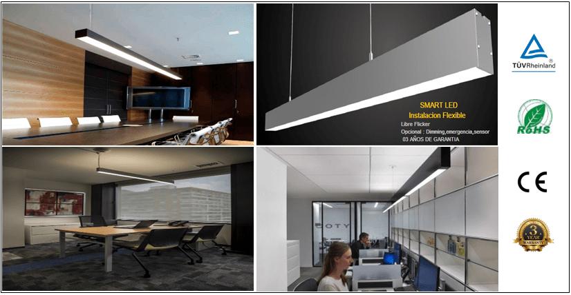 Led lineal smart iluminacion led decorativa lampara - Iluminacion led decorativa ...